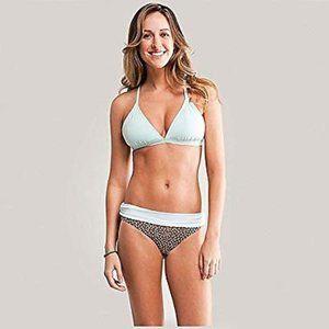 Carve Designs pale ice blue Cali bikini top